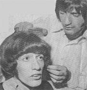 Bee Gees - Beatles: compartiendo peluquero.